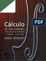 Calculo de Una Variable- James Stewart- 4 Edicion