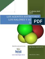 22 Los Agentes Extintores Los Halones Agentes Limpios 1a Edicion Abril2010