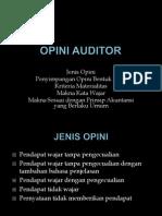 Opini Auditor