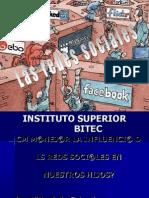 Diapositiva de Redes Sociales
