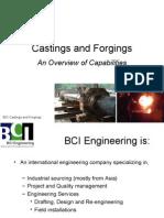 BCI Castings & Forgings, Final
