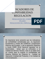 Regulación confiabilidad Argentina