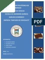 ANALISIS ECONOMICO CHOCOLATERA