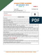 Jee Advance 2013 (Paper II)