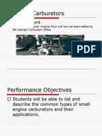 Carburetors Types