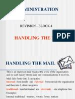 Admin Rev 4 Mail Handling