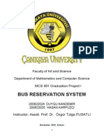 Bus Reservation