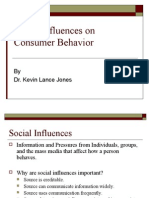 13. Social Influences on Consumer Behavior