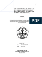 Pengaruh Economic Value Added Dan Eraning Terhadap Return Saham ( Studi Pada an Manufaktur Di Bursa Efek Indonesia )