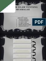 Hukum Islam  Muamalah