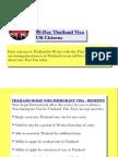90-Day Thailand Visa (UK Citizens)