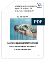 Alejandro Cabrera Investigacion