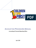 Accounting Procedures Manual 0408Draft 1