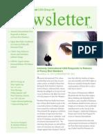 Group 48 Newsletter - January 2014