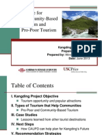 case studies on tourism for economic development and