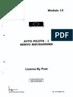 EASA MODULE 13 05 Auto Pilot - 1 Servo Mechanisms