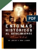 César Vidal - Enigmas históricos al descubierto De Jesús a Bin Laden