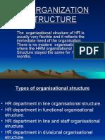HR Organisation Structure