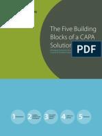 eBook - Five Building Blocks of CAPA in CP