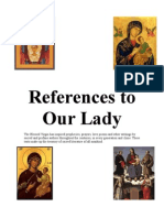 References to Our Lady