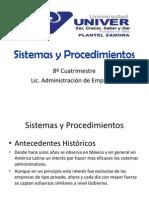 Temas 1.1 a 1.4 Sistemas y Procedimientos