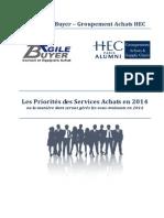 Enquete AgileBuyer-HEC Tendance 2014 131224 USINE-NOUVELLE