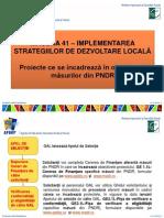 Prez.proiecte 41- Octombrie 2012