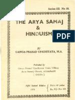 The Arya Samaj and Hinduism