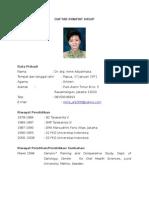 CV DR.drg.Irene Adyatmaka