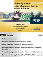 Oct.10 Am - Bernard Dion - A Model-Based Approach for the Design of Avionics Systems and Embedded Software