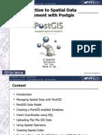 Spatial Data Management Arnulf Christl