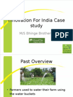 CaseStudy1- MIF Innovation for Innovation for India Awards