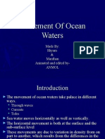 Movement of Ocean Waters(1)