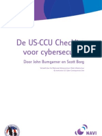 De US-CCU Checklist Voor Cyber Security