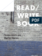 Read Write Book 1er Septembre 2009 Version de Travail