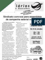 Assembléia Campanha Salarial 2009/2010