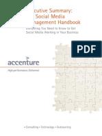 Accenture Executive Summary Social Media Handbook