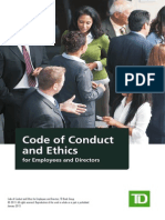 Td Governance Code Ethics
