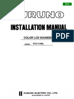FCV1100L Installation Manual C2 12[1].10.03 | Electrical ... on