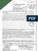 Main Well General Warranty Deed