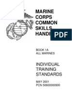 Marine Corps Common Skills Handbook