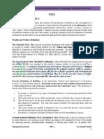 UNIT-1(Managerial Economics) UPTU GBTU MTUmba Sem1