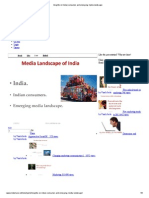 Insights on Indian Consumer and Emerging Media Landscape
