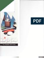 1993 Zippo Lighter Catalog