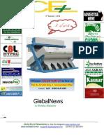 6th January,2013 ORYZA GLOBAL Rice E-Newsletter by Riceplus Magazine
