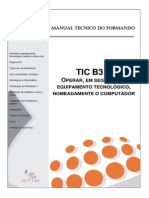 Manual Do Formando - TIC B3 A