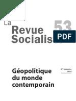 La Revue socialiste n°53 Géopolitique du monde contemporain
