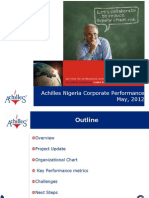 Achilles Nigeria Corporate Performance Review