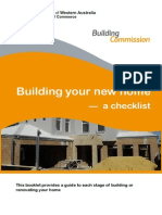 Building Your New Home a Checklist May 2012 Web