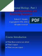 Lectures Part 01